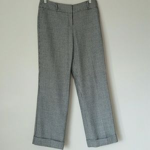 Talbot's hounds tooth wool trousers